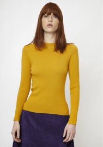 Compania Fantastica - Ribbed jumper, mustard