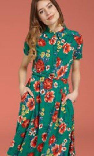 KL - Olive dress Melrose