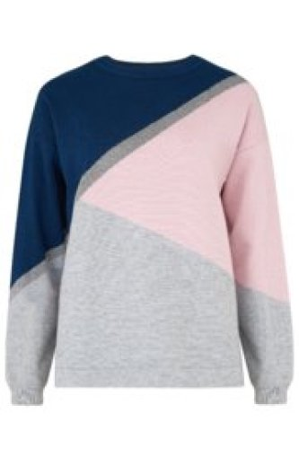 Sugarhill - Roxy colourblock sweater
