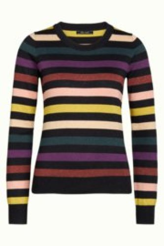 King Louie - Stripe top Glitter stripe