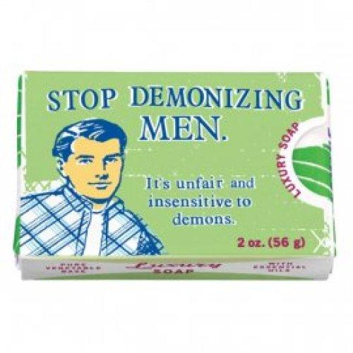 Zeepje - stop demonizing men
