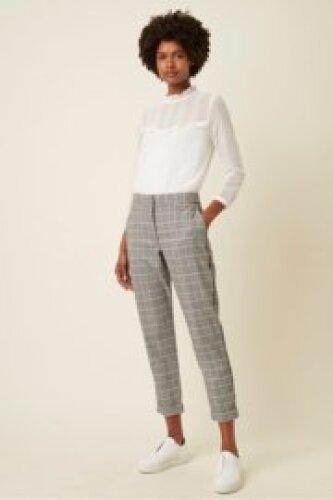 Great Plains - Paradis check trousers