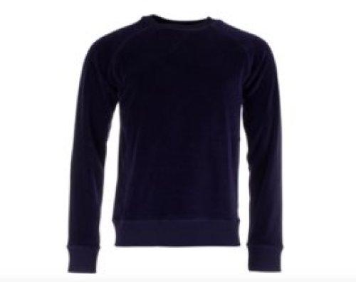 Munoman - Sweater Ilias deep blue velvet