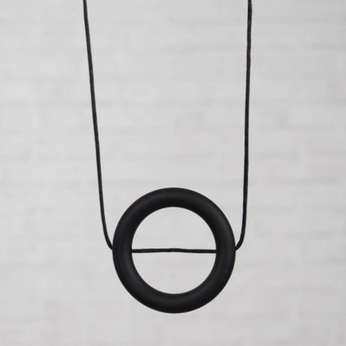 HALSKETTING SILICONE cirkel