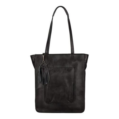 Burkely Noble Nova Shopper zwart