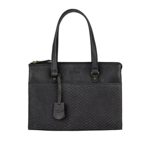 Burkely Flow Fem Handbag S zwart