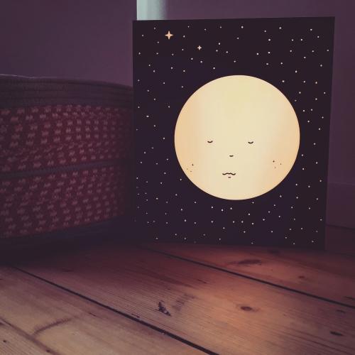 Vintage moon by Atelier Watt