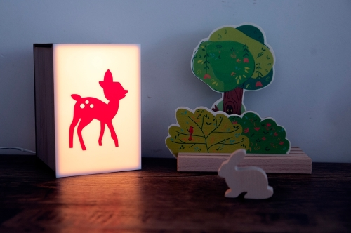 Mini lightbox | bambi by Atelier Watt