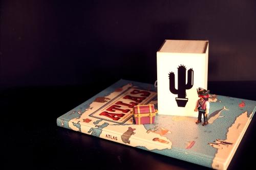 CACTUS -MINI lightbox by Atelier Watt