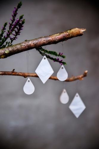 Kerstversiering | liquid drops by Atelier Watt