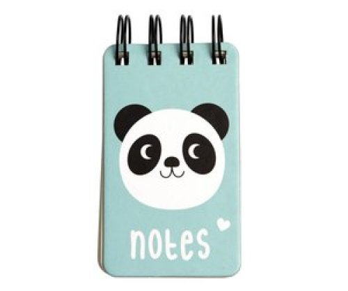 Notaboekje panda