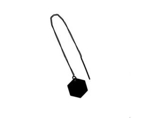 oorbEllen mix&match zeshoekje zwart doortrekker zwart