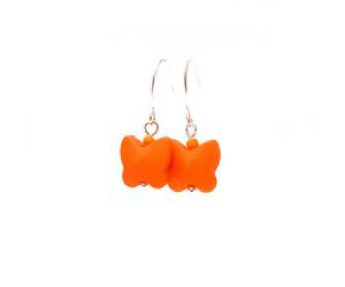 oorbEllen vlindertjes oranje
