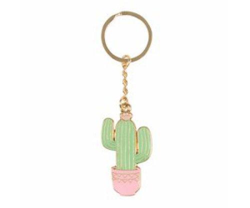 Sleutelhanger email cactus