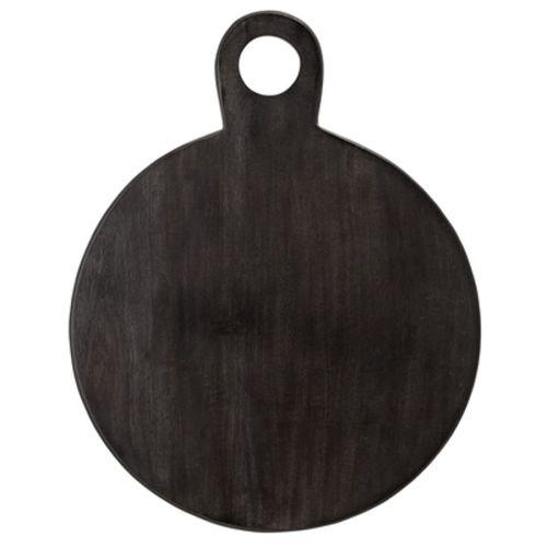 Bloomingville - serveerplank - zwart acacia