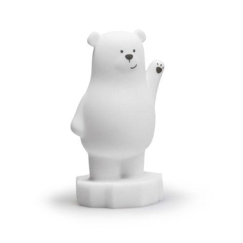 Atelier Pierre - nachtlampje beer - wit