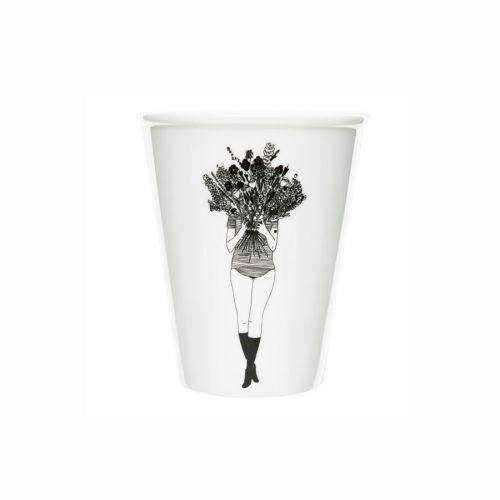 Helen b - beker porselein - flower girl