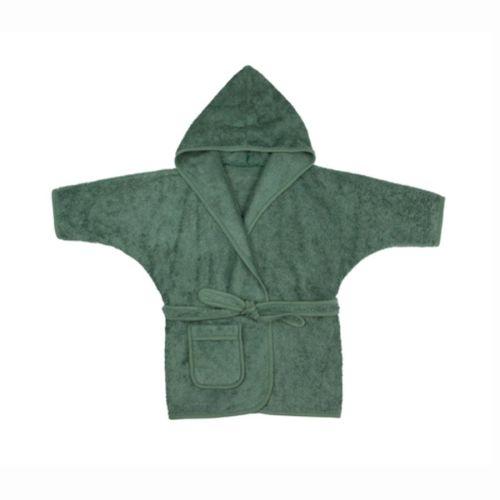 Timboo badjas 2-4 jaar - Aspen green