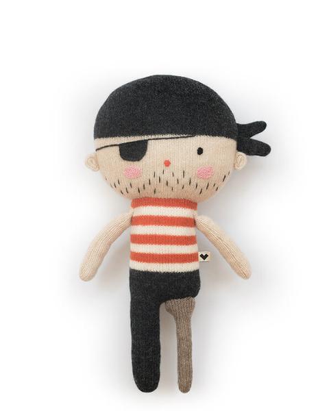 Lauvely vriend Jack de piraat rood