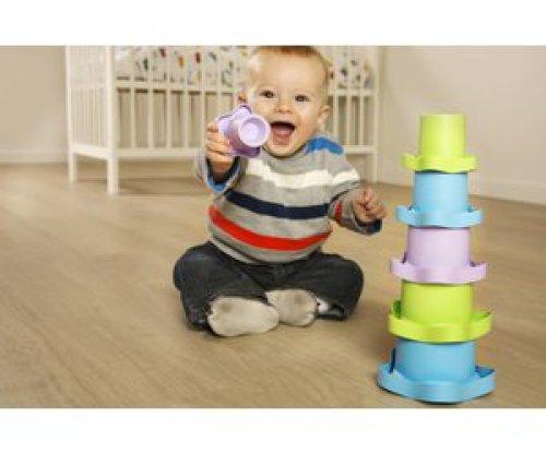 Green Toys Green Toys stapelpotten: stevig stapelen!
