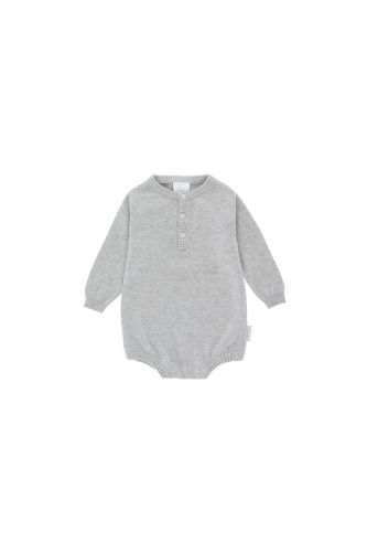 Tiny Cottons Grey knitted body