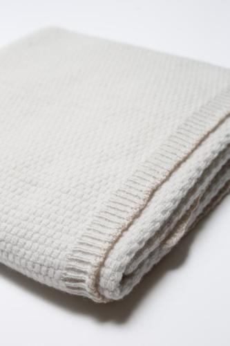 HVID Bea blanket silver