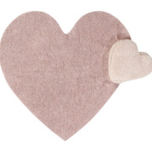 Groot wasbaar tapijt mét ingewerkt kussen