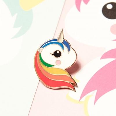 Pin Eenhoorn Regenboog - Petit Pompier