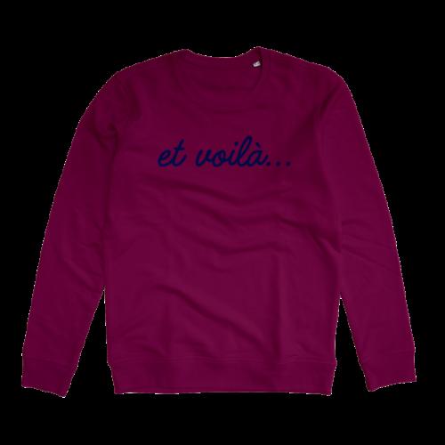 Et voila sweater