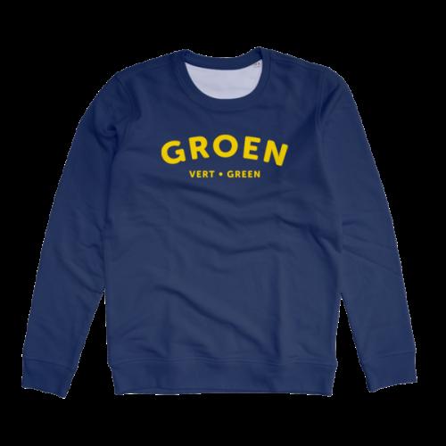 Groen sweater