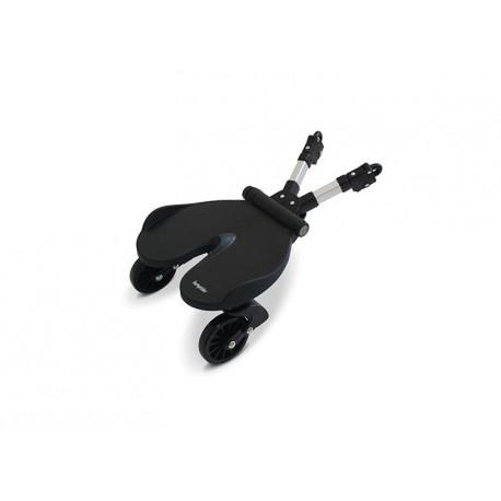 Bumprider (zwart) - Universeel meerijdplankje voor buggy