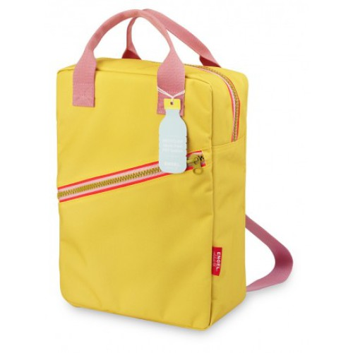 Engel. Rugzak Large | Zipper Yellow