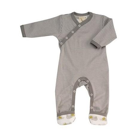 Pyjama / kruippakje met strepen van Pigeon