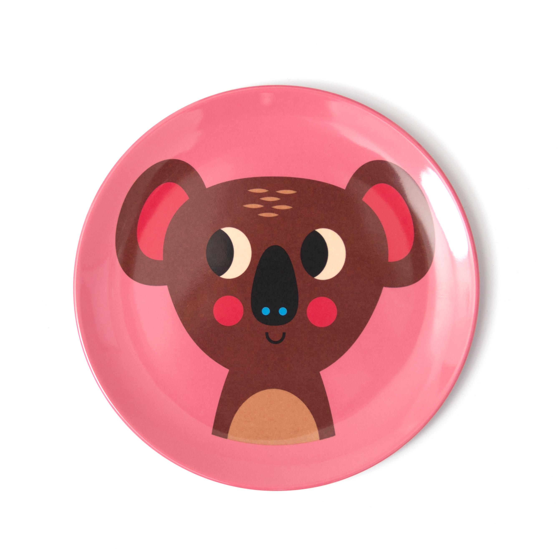 Ingela koala eetbord melamine - Kidsdinge - Cadeautjes voor kids & jezelf