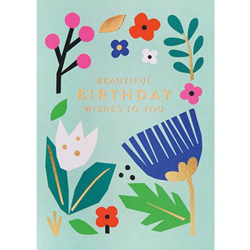Ekaterina Trukhan Beautiful Birthday wishes to you wenskaart - www.kidsdinge.com