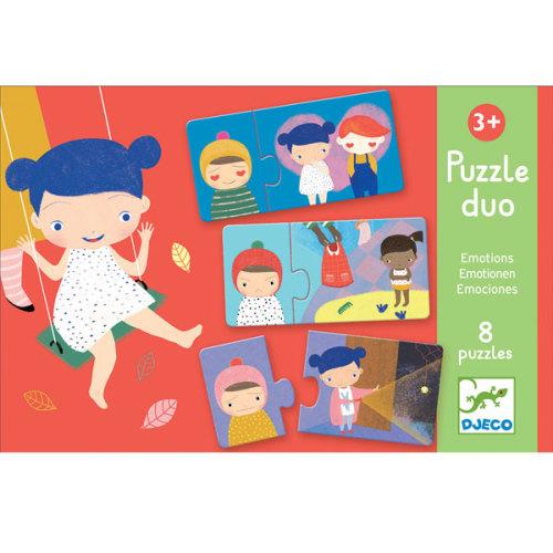 Djeco Emoties puzzel vanaf 3 jaar - www.kidsdinge.com