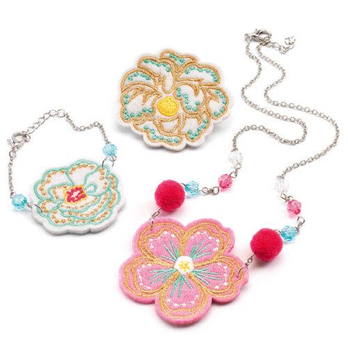 Djeco Flowers juwelenset - www.kidsdinge.com