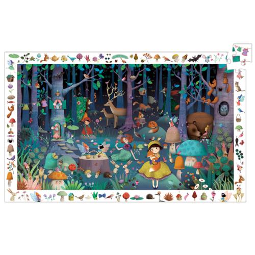 Djeco puzzel betoverend bos 100 stuks