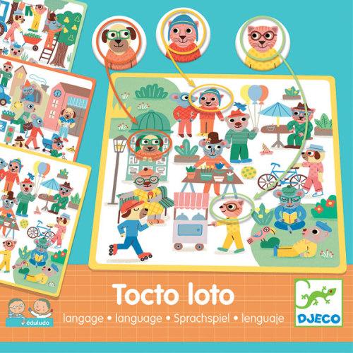 Djeco tocto loto taalspel vanaf 3j - www.kidsdinge.com
