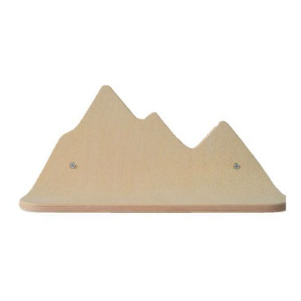 Berg wandplankje beuk - Kidsdinge - Cadeautjes voor kids & jezelf