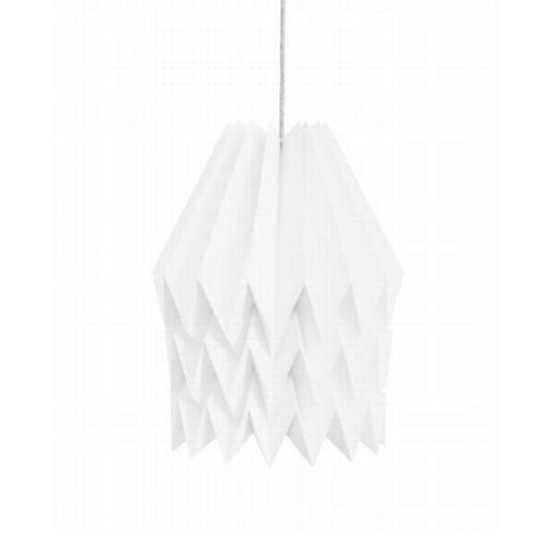 Origami lamp wit XL - www.kidsdinge.com