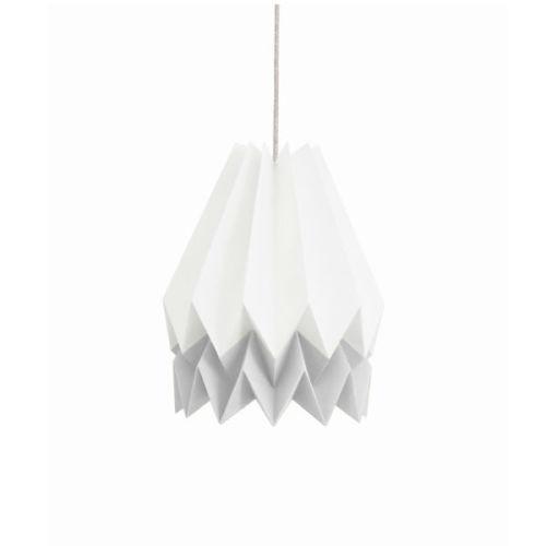 Origami lamp wit grijs - www.kidsdinge.com