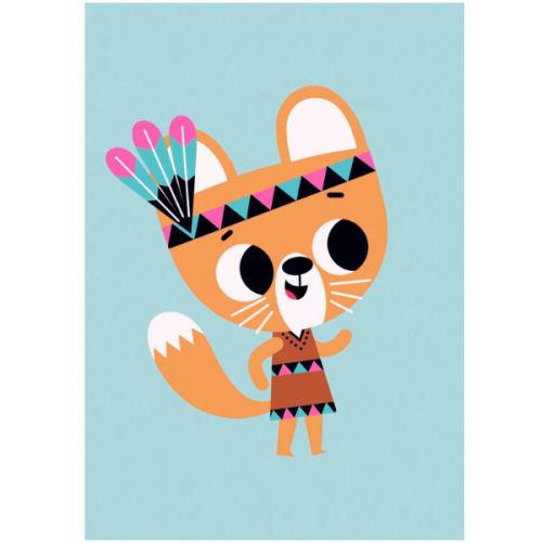 Tiago Americo poster squirrel 50x70