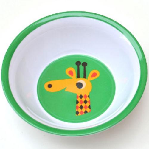 Ingela giraf bowl melamine - www.kidsdinge.com - Brasschaat