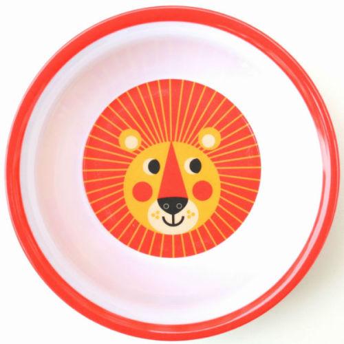 Ingela leeuw bowl melamine - www.kidsdinge.com