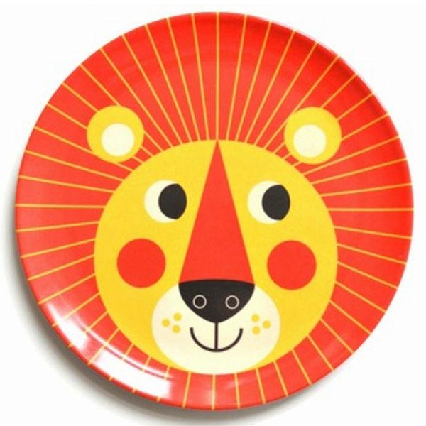 Ingela leeuw eetbord melamine - Kidsdinge - Cadeautjes voor kids & jezelf