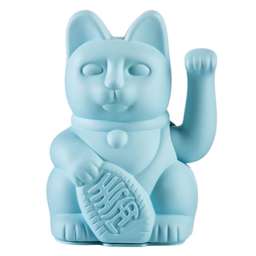Lucky cat blue - www.kidsdinge.com