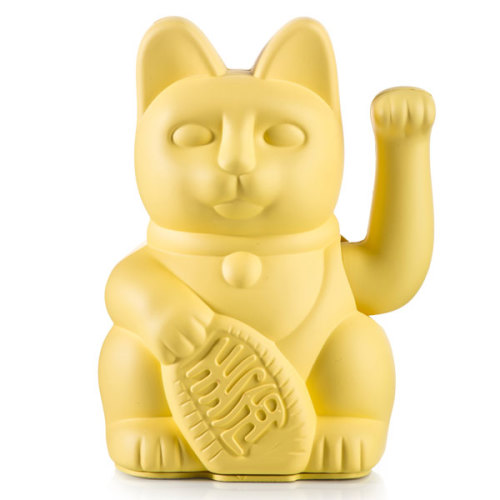 Lucky cat yellow - www.kidsdinge.com