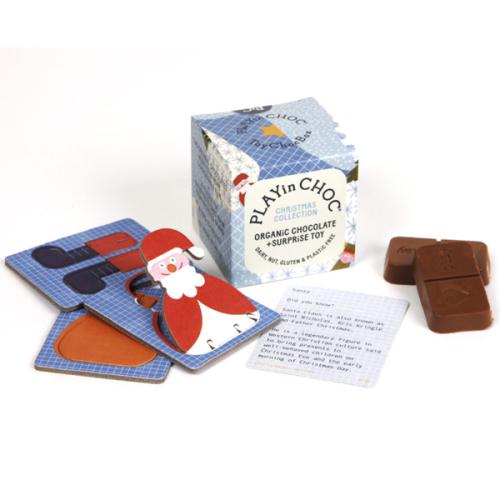 Chocolade & surprise - Kerstmis - Biologisch en glutenvrij - www.kidsdinge.com