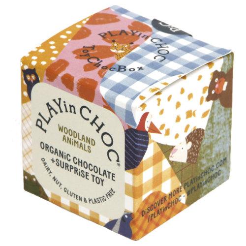 Chocolade & surprise - Woodland - Biologisch en glutenvrij - www.kidsdinge.com